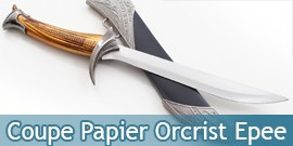 Coupe Papier Orcrist Epee Le Hobbit Ouvre Lettre 28cm