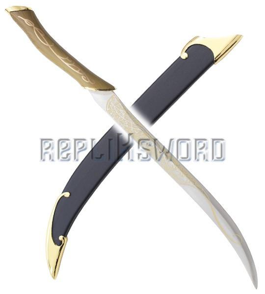 Le Seigneur Des Anneaux Sabre Legolas Elf Couteau Dague