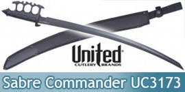 Sabre Poing Americain Epee Combat Commander UC3173