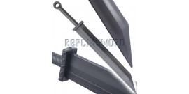 Lot 2 Epees Polypropylene Sabre Entrainement E476-PPXV2