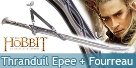 Pack Epee Thranduil et Fourreau Le Hobbit United Cutlery