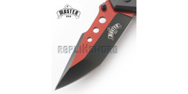 Couteau Pliant Master USA Red MU-A077RD