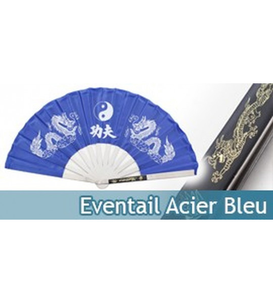 Eventail Acier Entrainement Black Dragon 2510-CBL
