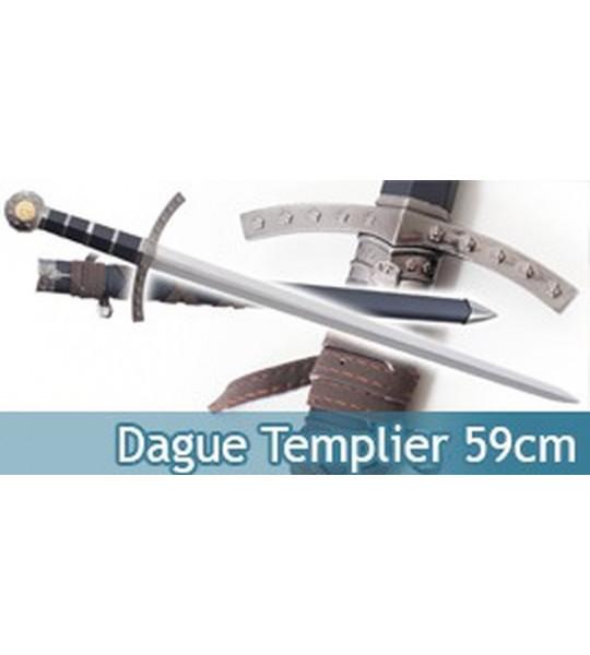 Epee Dague Templier Chevalier 59cm