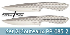 Pack de 2 Couteaux de Lancer Perfect Point PP-085-2