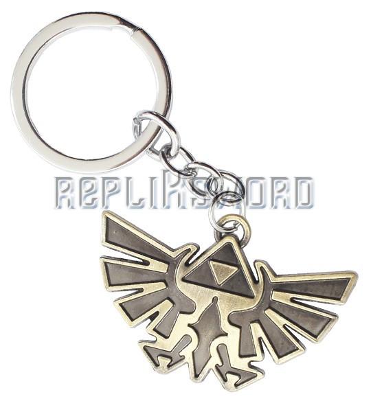 Porte Cle Zelda Tri Force Link Bijoux Acier