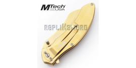 Couteau Pliant Gold Edition MT-A1030GBK