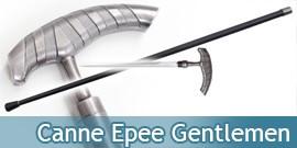 Canne Epee de Marche Gentlemen Acier