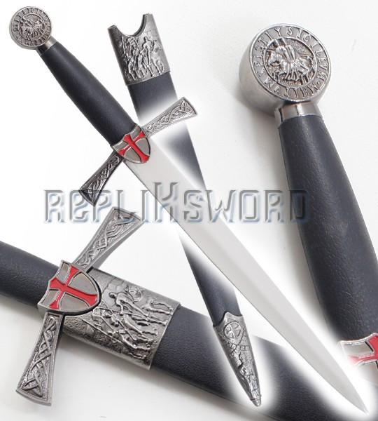 Dague Templiere Couteau Replique