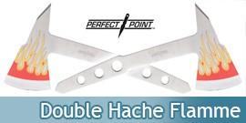 Double Hache a Lancer Hachette Flamme PP-120-2FL
