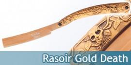Couteau Rasoir Death Gold Edition DS-065GD