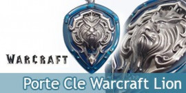Porte Cle Warcraft Garde Royale WOW Bouclier Silver