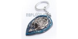 Porte Cle Warcraft Garde Royale WOW Bouclier Silver