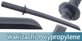 Epee de Combat Wakizashi en Polypropylene 60cm