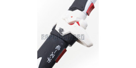 Katana en Bois Oni Genji Ninja Overwatch Epee Dragon Blanc