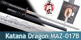 Katana Ninja Forgé Maru Masahiro Epee Sabre Maru