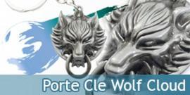 Porte Cle Fenrir Loup Cloud Wolf Acier