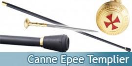 Canne Epee de Marche Chevalier Templier