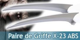 X Men Paire Griffes X 23 ABS Replique Logan Laura Kinney