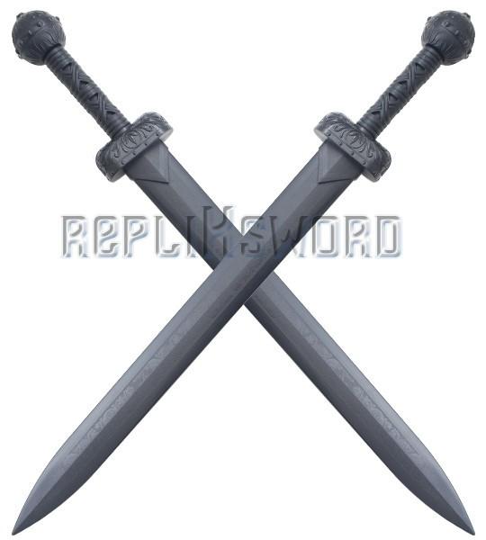 Lot 2 Glaives de Combat Romain Polypropylene Epee