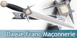 Dague Franc Maçonnerie Couteau Franc Maçon
