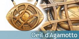 Collier L'œil de Agamotto Amulette Doctor Strange Replique