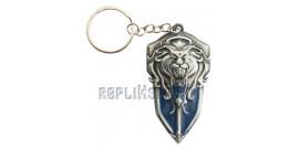 Porte Cle Warcraft Garde Royale WOW Bouclier Lion