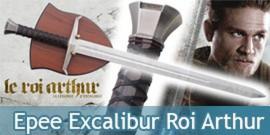 Le Roi Arthur Epee de La Légende d'Excalibur