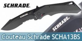 Couteau Pliant Schrade SCHA13BS