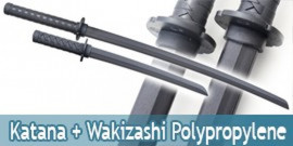 Pack Epee et Wakizashi en Polypropylene Niten