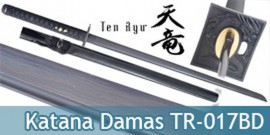 Katana Lame Damas Ninja Dragon TR-017BD Ten Ryu