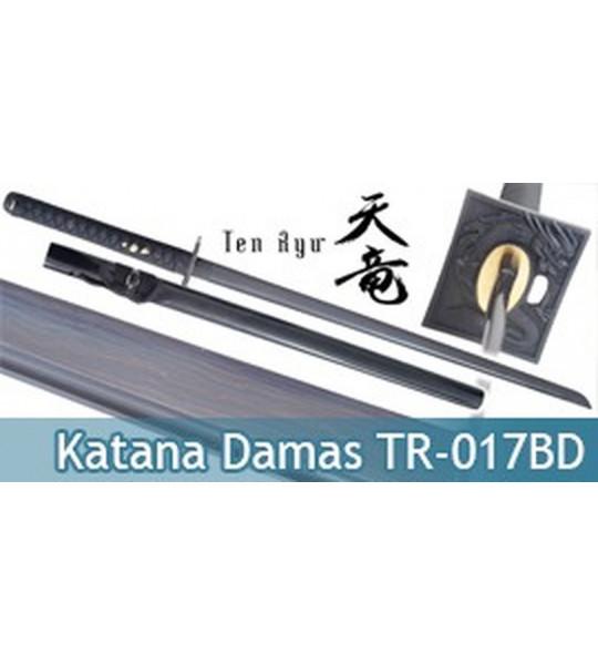Katana Lame Damas Ninja Dragon TR-017BD Ten Ryu