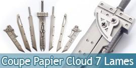 Coupe Papier Epee Cloud Buster 7 Lames 13cm Ouvre Lettre