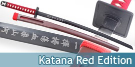 Katana Japonais Red Edition