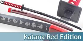 Katana Japonais Red Edition