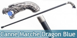 Canne de Marche Blue Dragon Fantasy