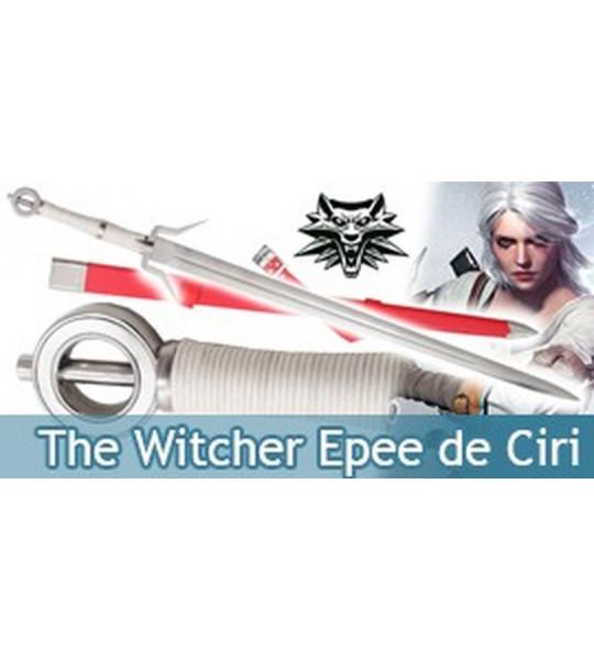 The Wticher Epee de Ciri Replique Acier Sabre et Fourreau
