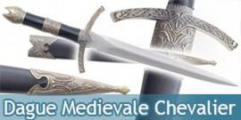 Dague Medievale Chevalier Couteau