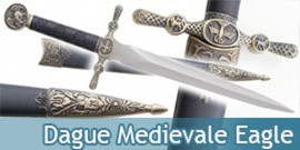 Dague Medievale Eagle Couteau