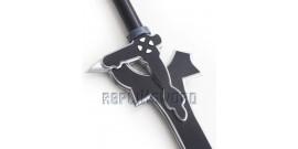 Sword Art Online Epée Kirito Elucidator Mousse Enfant 80cm