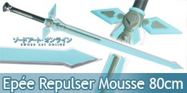 Sword Art Online Epée Repulser Latex Model Enfant 80cm