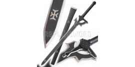 Sword Art Online Epee Tranchante Kirito Elucidator Sabre