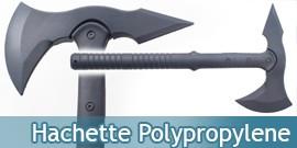 Hachette en Polypropylene Hache d'Entrainement 10161PP