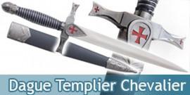 Dague Templier Chevalier Couteau Decoration