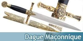 Dague Maçonnique Couteau Franc Maconnerie