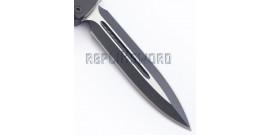 Couteau Automatique Lame Acier 440 Stainless A16