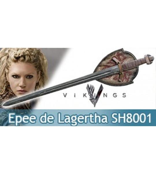 Vikings Epée de Lagertha Replique Acier Licence SH8001