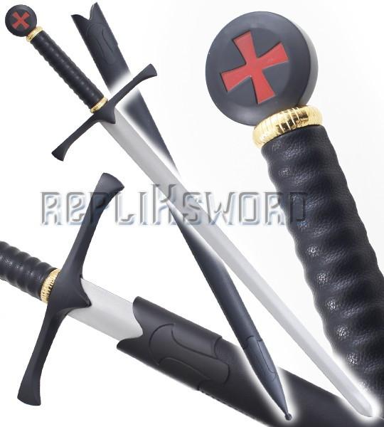 Epee des Templiers Chevalier Replique Black Edition