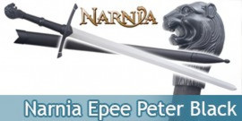 Narnia Epee + Fourreau de Peter Replique Black Edition