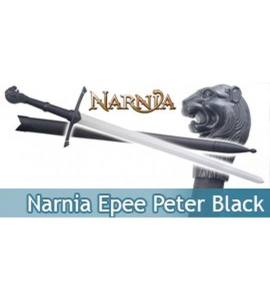 Narnia Epee + Fourreau de Peter Replique Black Edition
